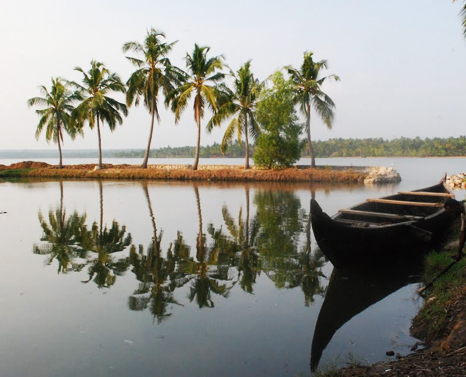 The Kadinamkulam Lake