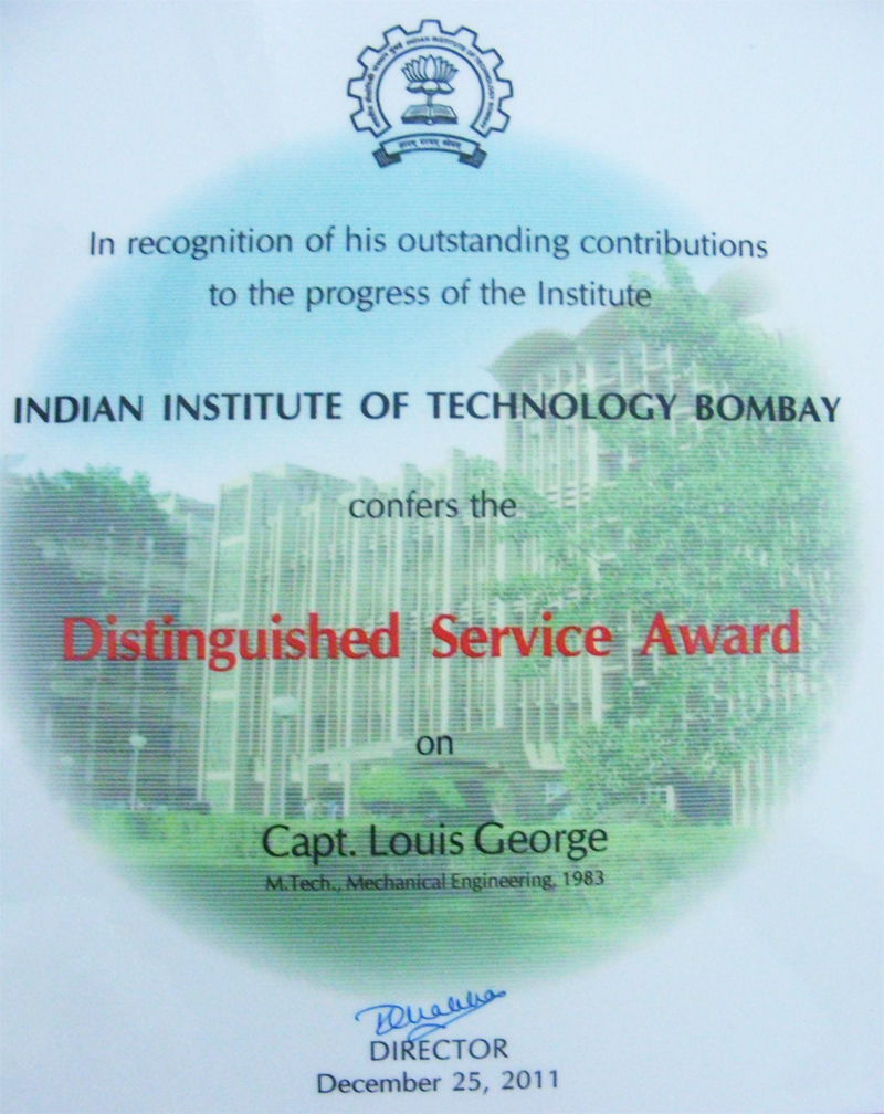 The DSA Citation from IIT, Powai, Mumbai