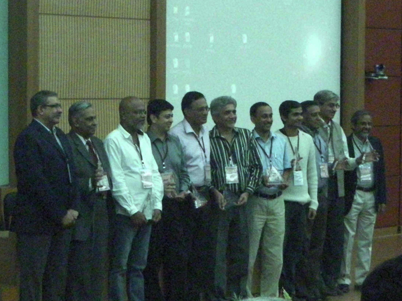 The Winners of the DSA from IIT Powai, 2011